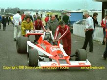 Williams FW06  Giacomo Agostini  Car. Mallory Park Aurora AFX 1979